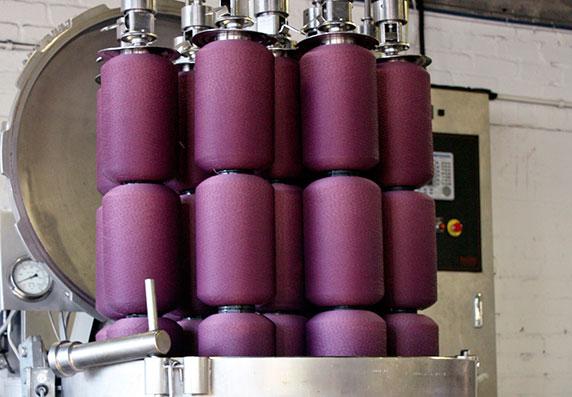Weavewell Factory Dye Process