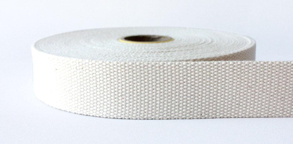 100% Natural Cotton Webbing