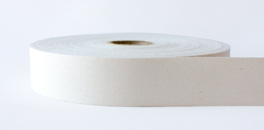 Natural Plain Weave Cotton Tape