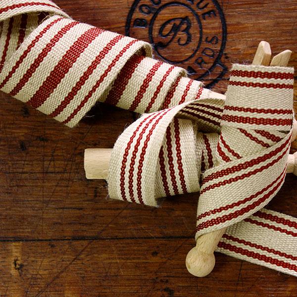 Weavewell Ribbons - Festive Flax