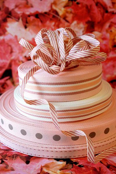 Weavewell Ribbons - Rose Pinks