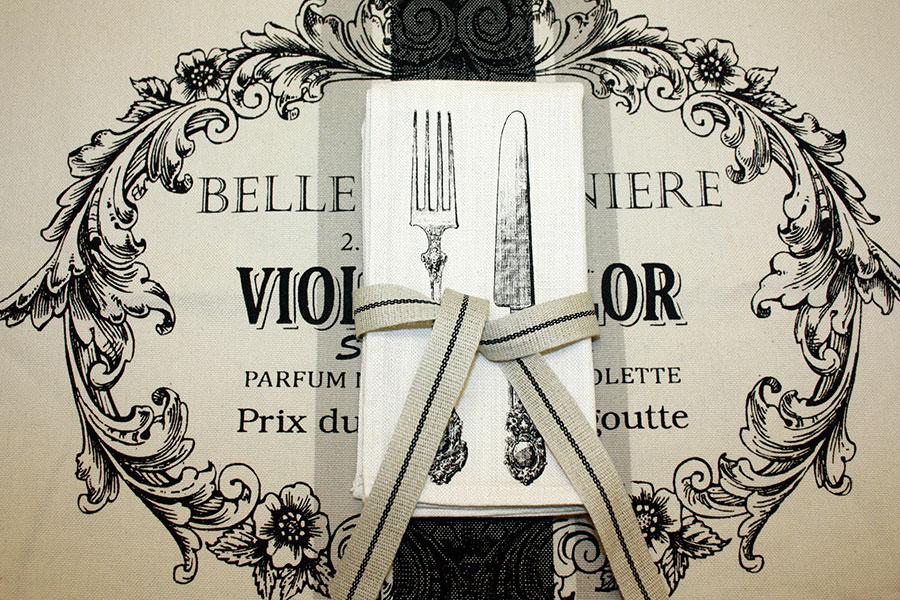 Weavewell Ribbons - Table Setting