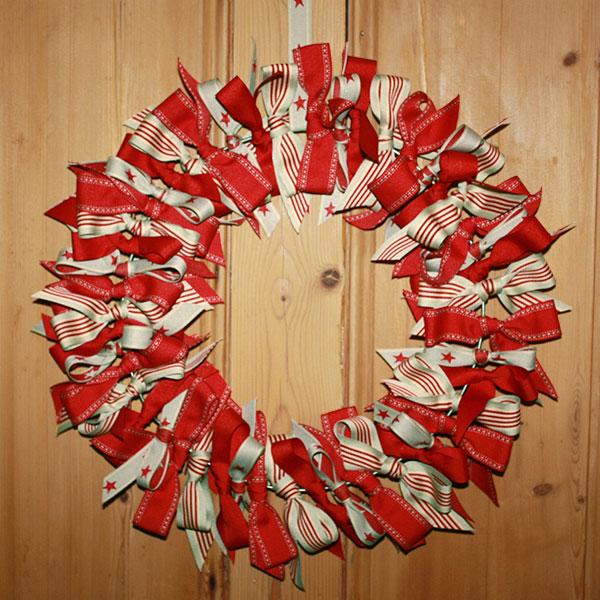 Weavewell Ribbons - Xmas Wreath