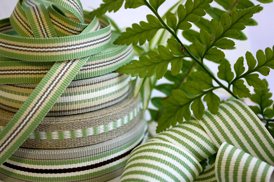 Weavewell Ribbons - Fern Green Range