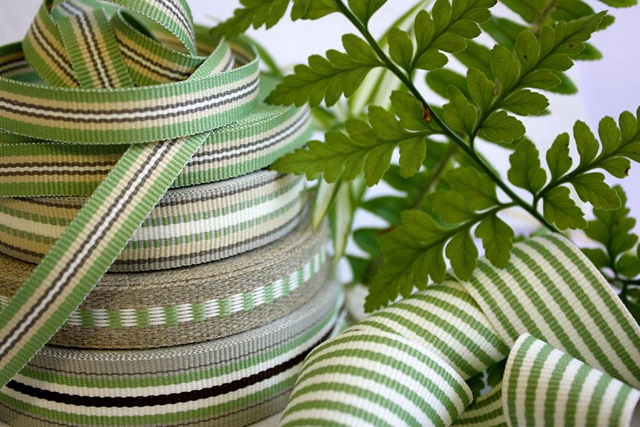 Weavewell Ribbons - Fern Green Range