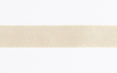 Double Sided Satin – Cream