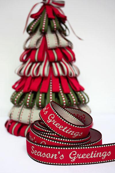 Weavewell Ribbons - Seasons Greetings