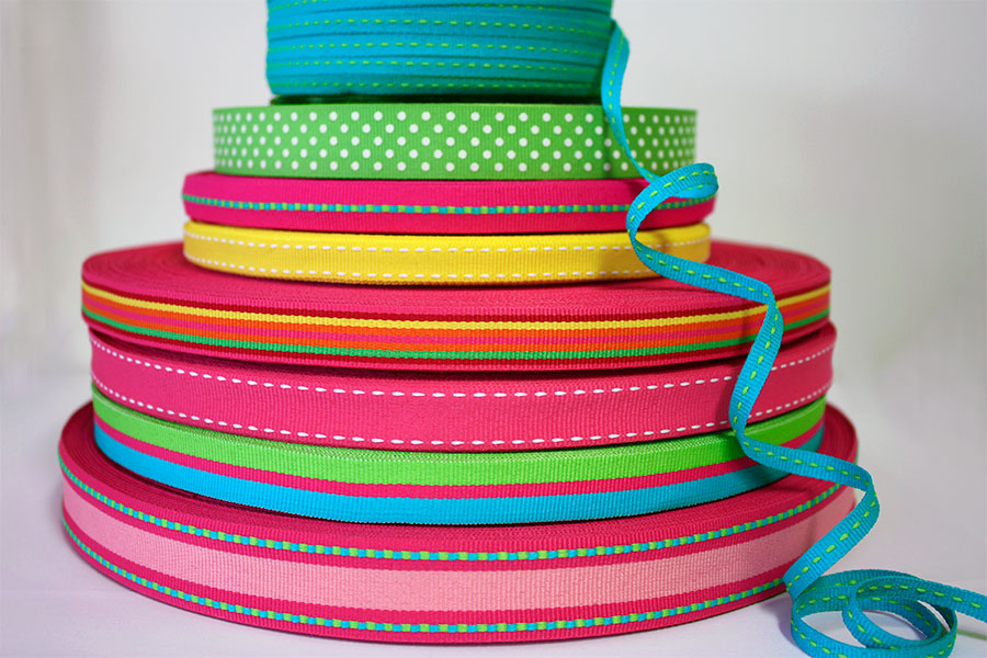 Weavewell Ribbons - Summer Brights