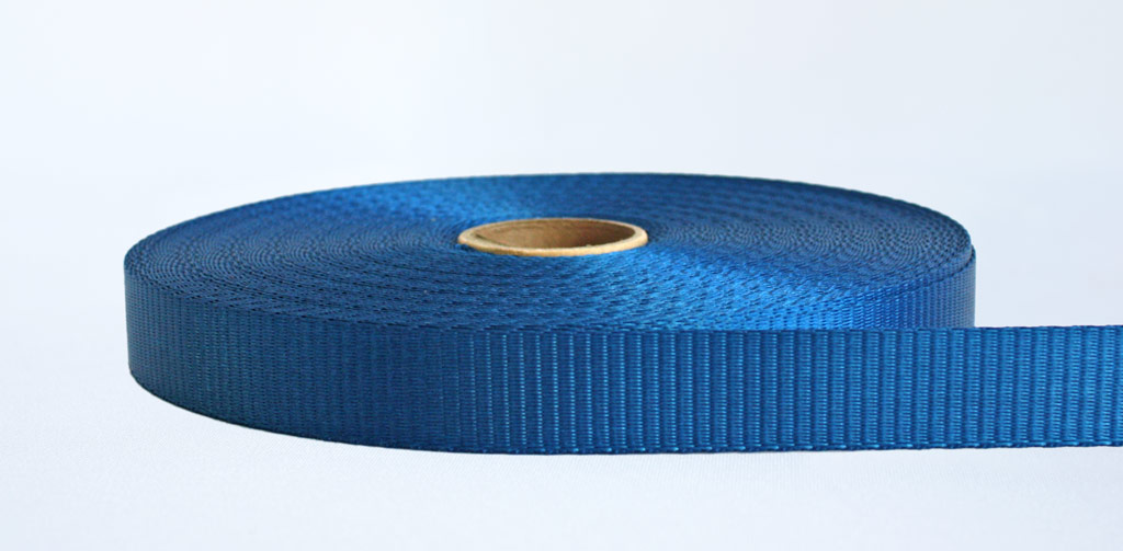 25mm-1.2 Ton Industrial Webbing Blue - Weavewell