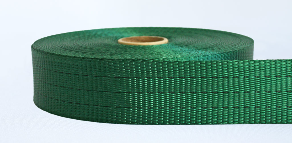 50mm-3 Ton Industrial Webbing Green - Weavewell