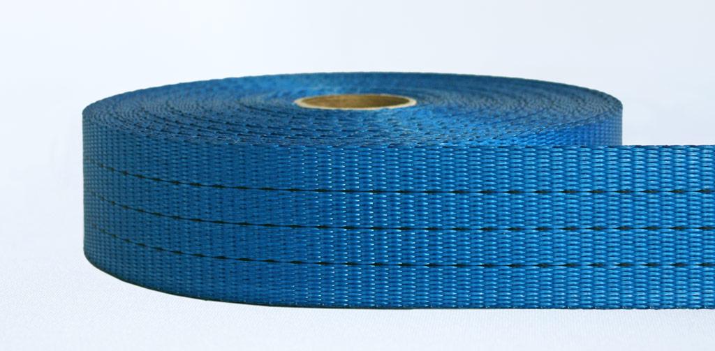 50mm-3 Ton Industrial Webbing Pigment Blue - Weavewell