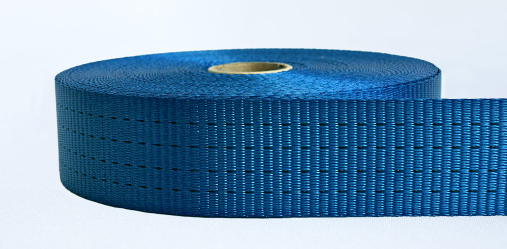 50mm-4 Ton Industrial Webbing Blue - Weavewell