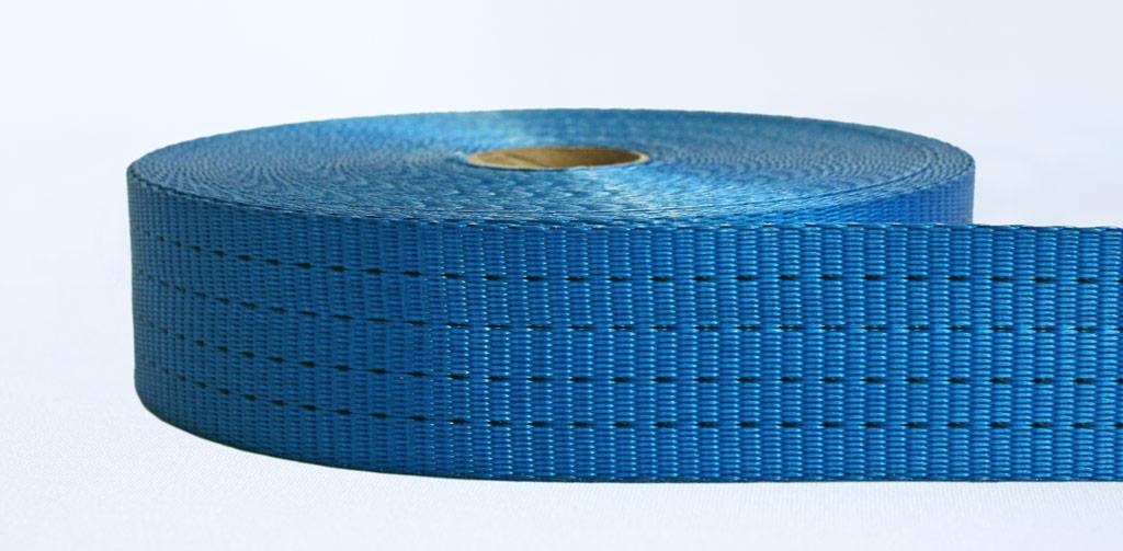 50mm-4 Ton Industrial Webbing Pigment Blue - Weavewell