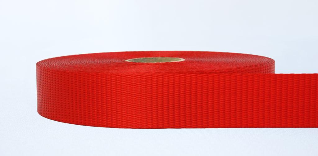 35mm-2.5 Ton Industrial Webbing Red - Weavewell