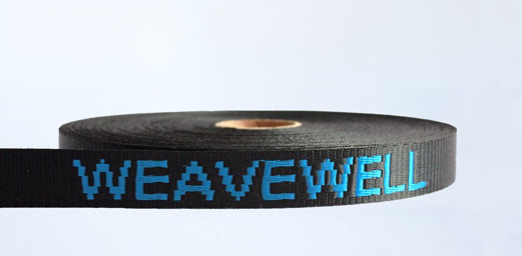 Jacquard Branded Webbing - Weavewell