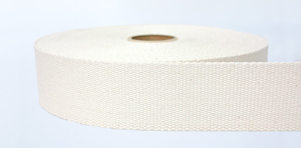 100% Natural Cotton Webbing - Weavewell